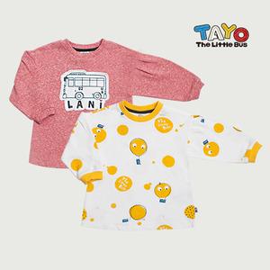 볼륨 소매 롱 티셔츠